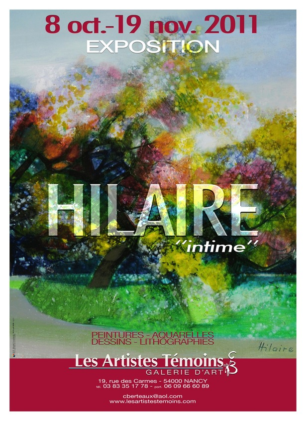 HILAIRE &quot;intime&quot;