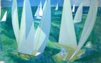 """Hilaire et les livres illustrés : """"La Normandie"""", 1976"""